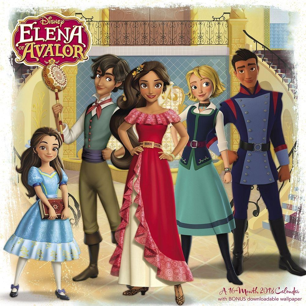Elena of Avalor Wall Calendar: 9781682099087