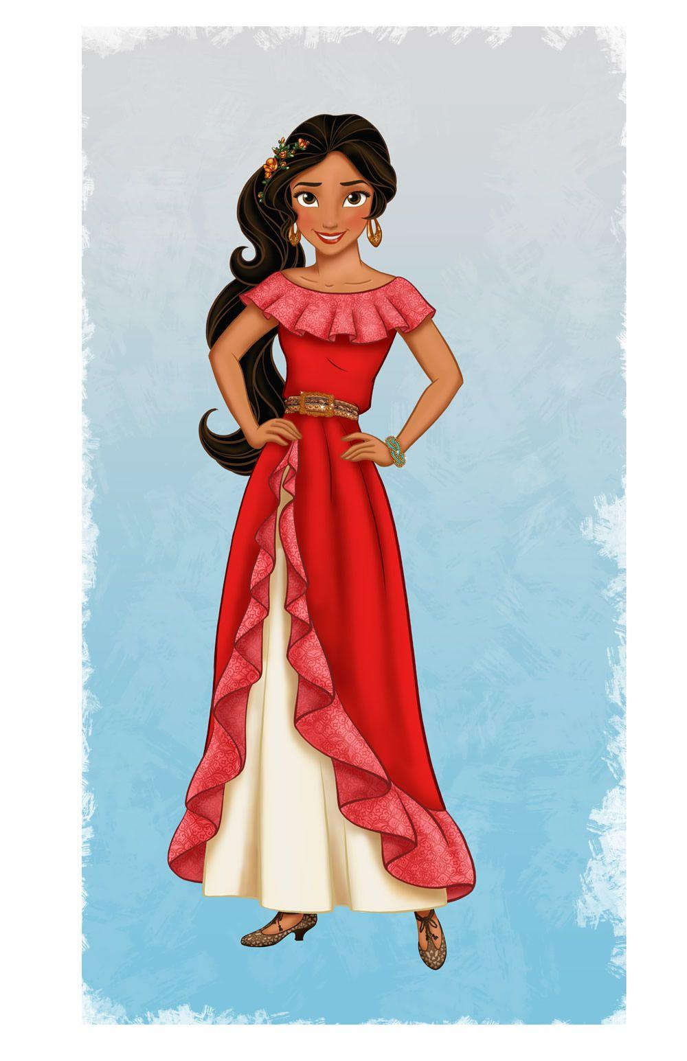 Meet Disney's Newest Princess, Elena of Avalor!