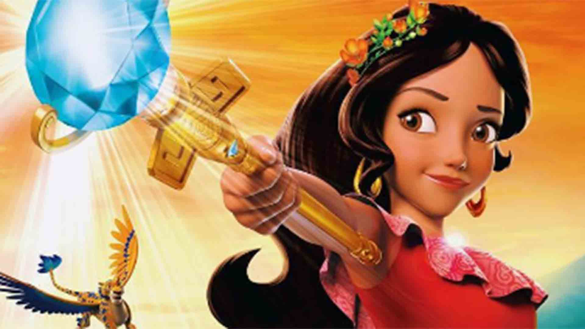 Elena of Avalor, la primera princesa latina de Disney debuta en