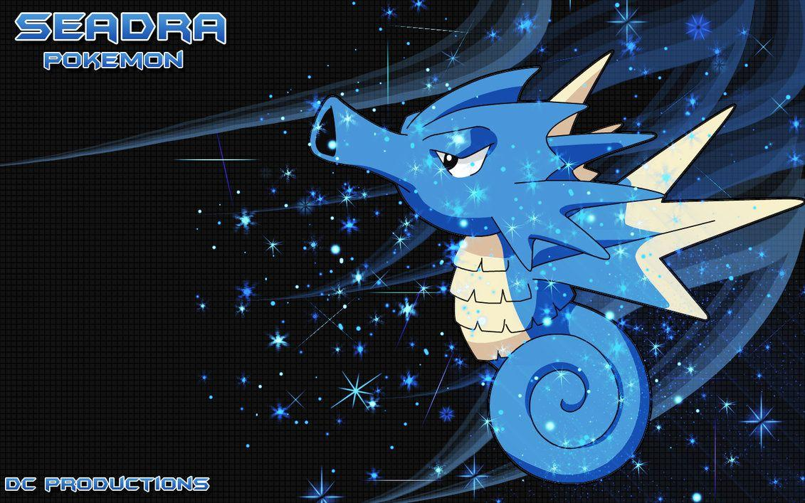 Seadra Sparkle Wallpaper by demoncloud on DeviantArt
