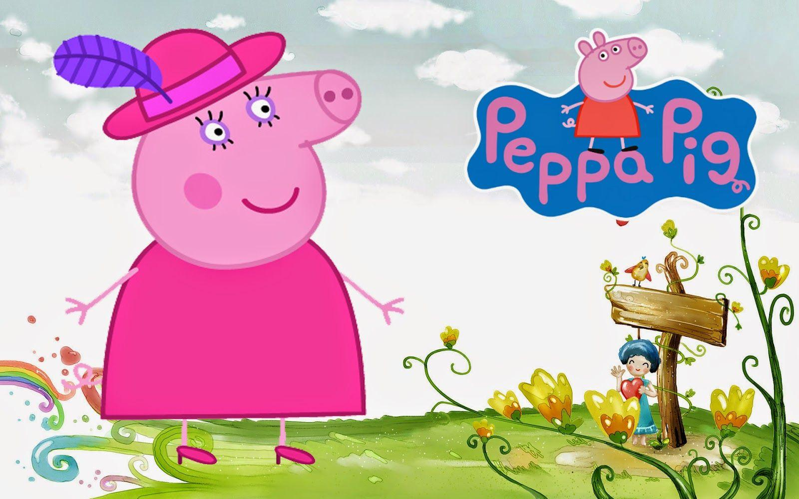 Disney HD Wallpapers: Peppa Pig Cartoon HD Wallpapers