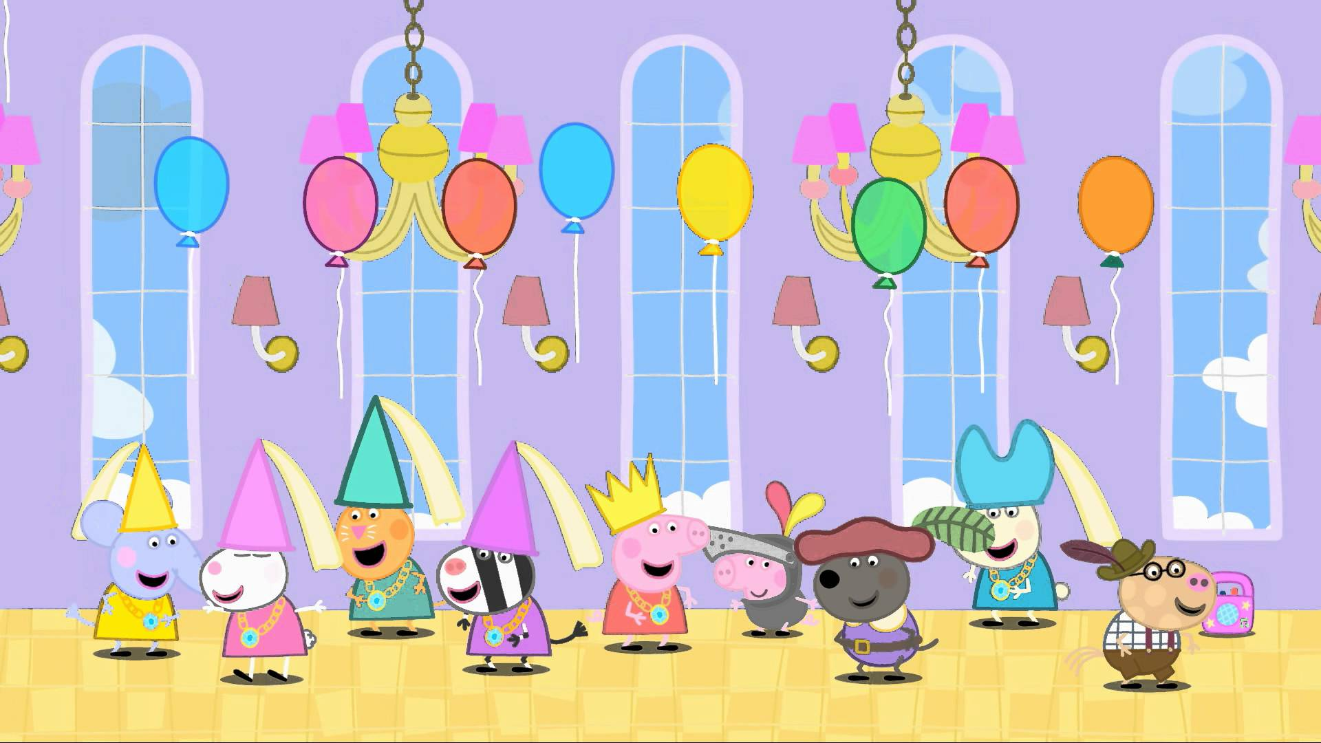 Peppa Pig Wallpaper Desktop - WallpaperSafari | children room ...
