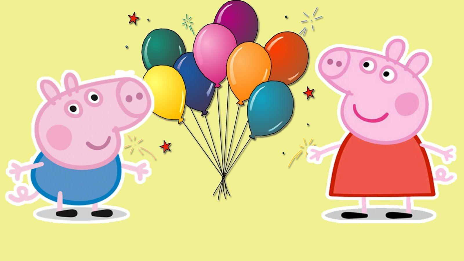 Peppa Pig Daddy Pig birthday party surprise - YouTube