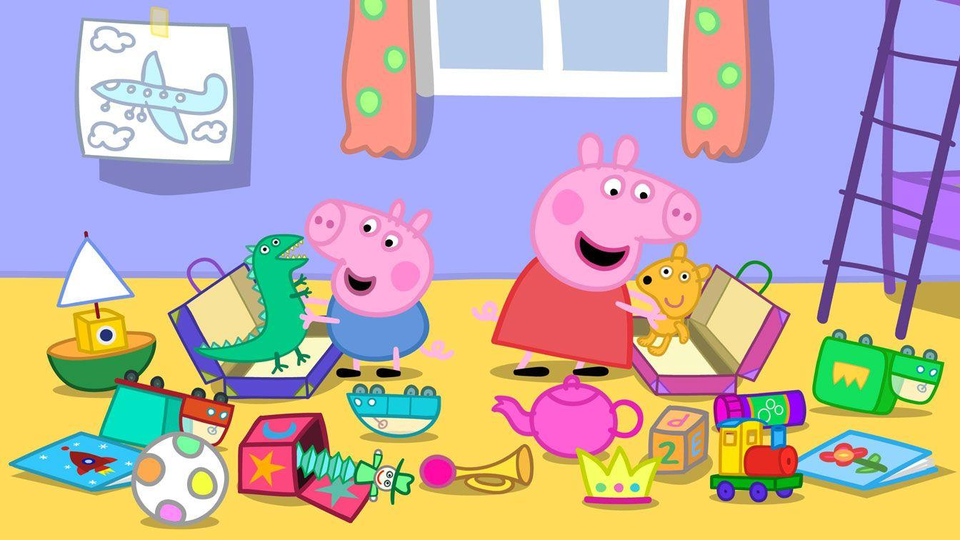 Peppa Pig HD Wallpaper 1344x756 (162.43 KB)