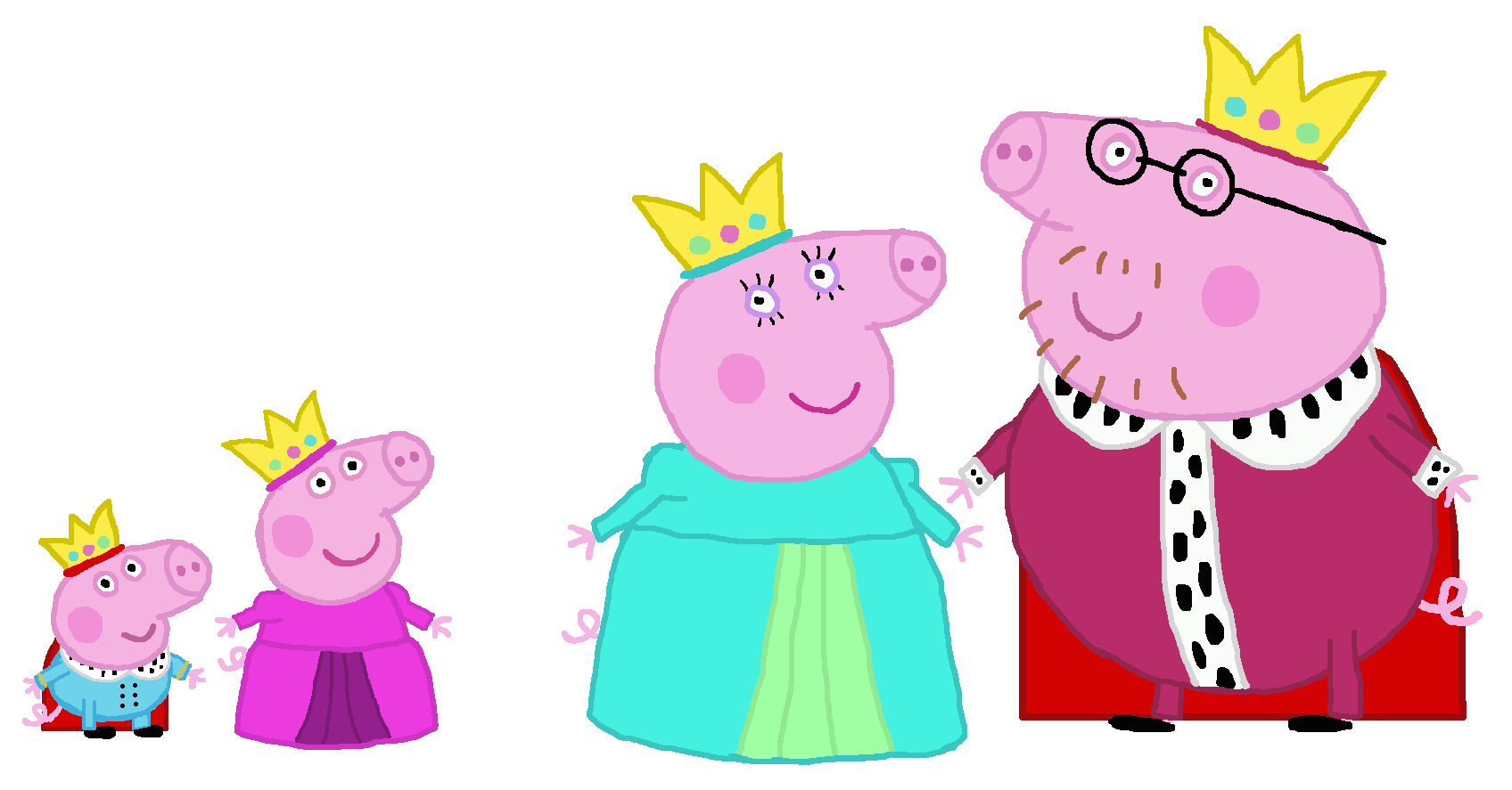 Peppa Pig images Royal family Peppa Pig HD wallpaper and ...
