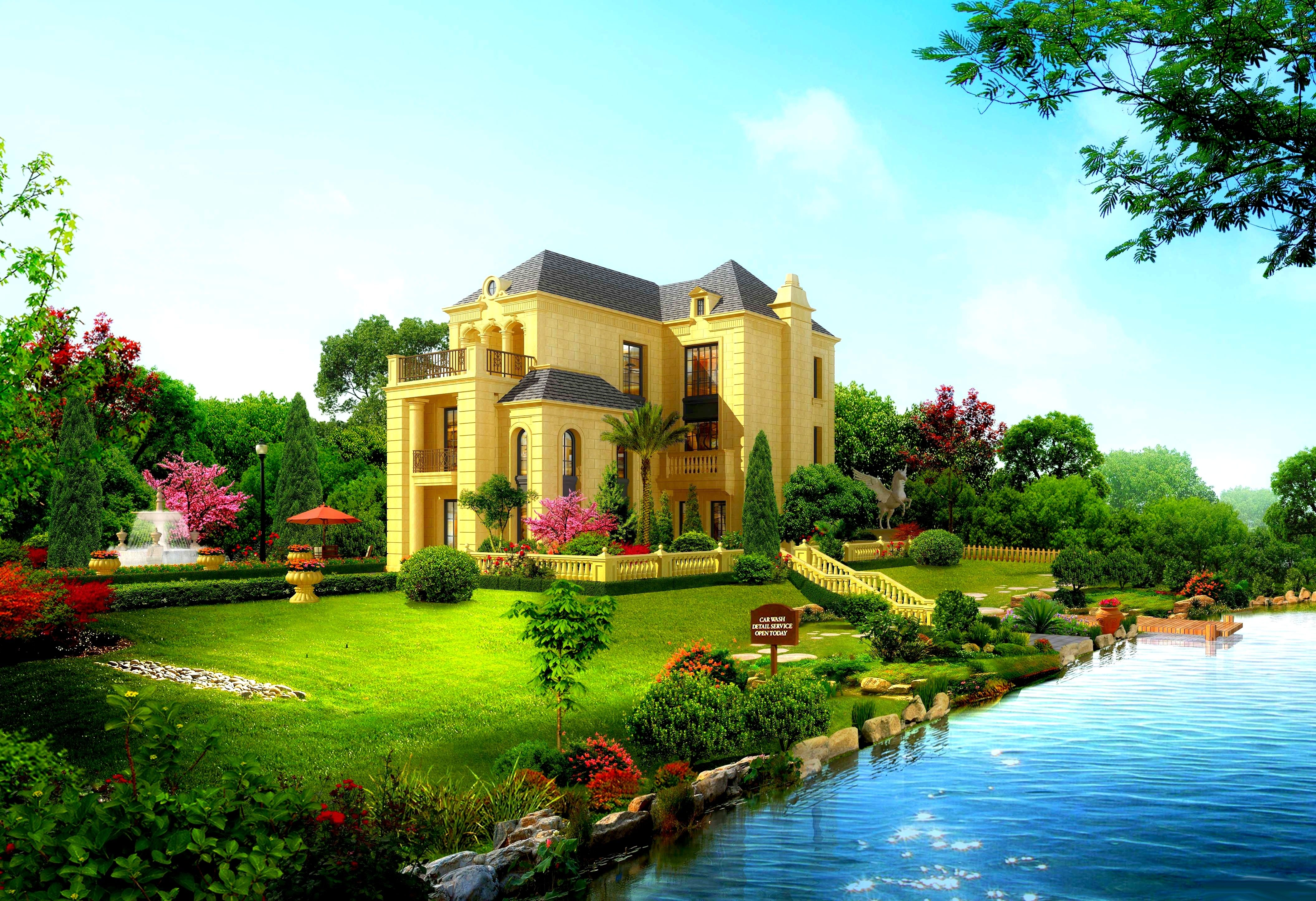 . Beautiful House Wallpapers   Wallpaper Cave