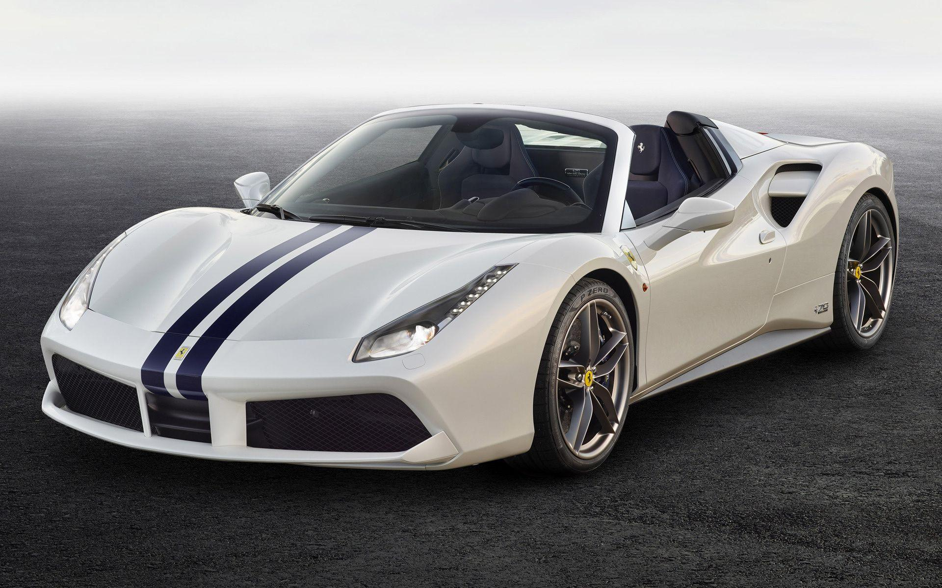 Ferrari 488 Spider The White Spider