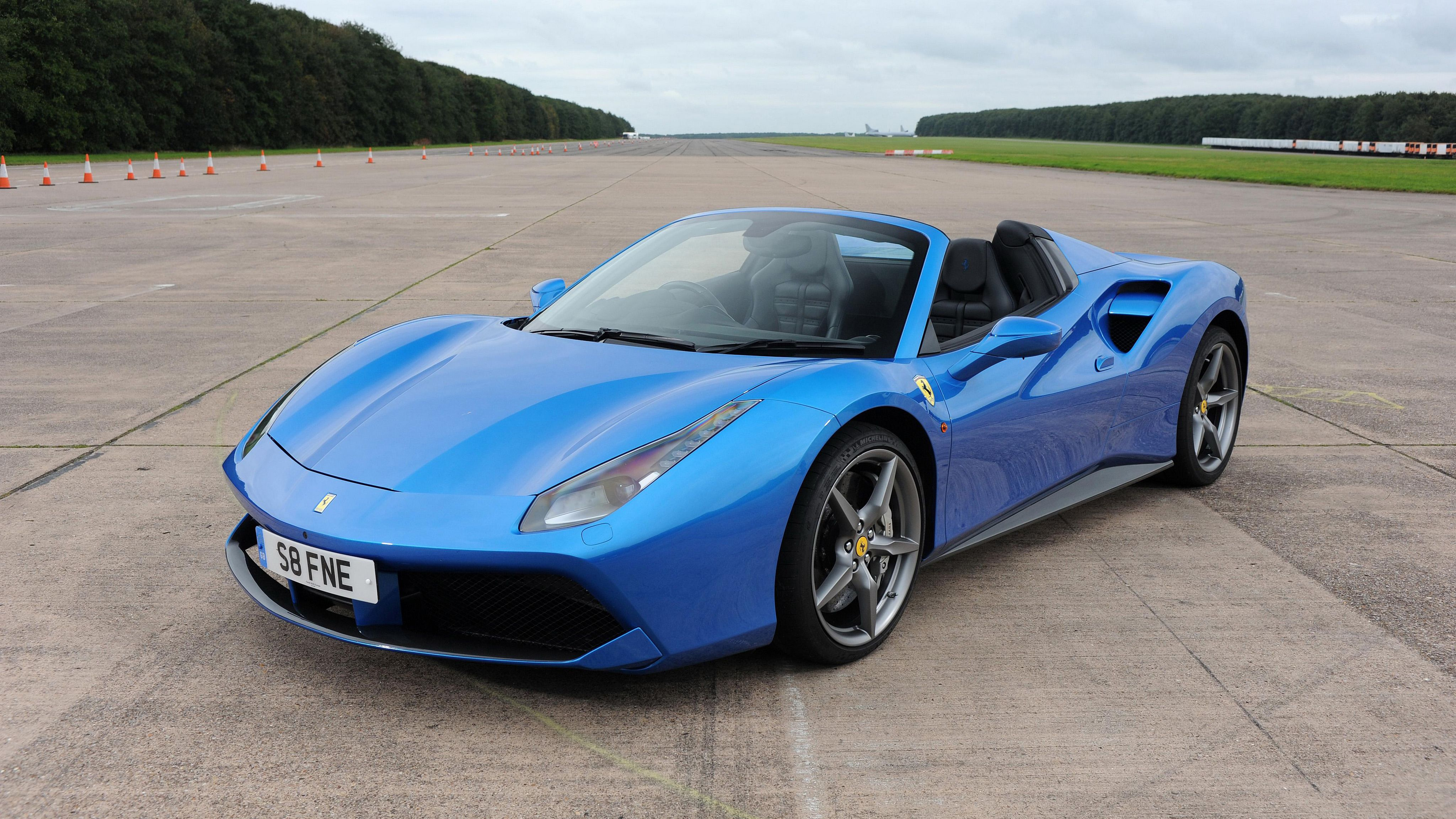 28 Ferrari 488 Spider HD Wallpapers