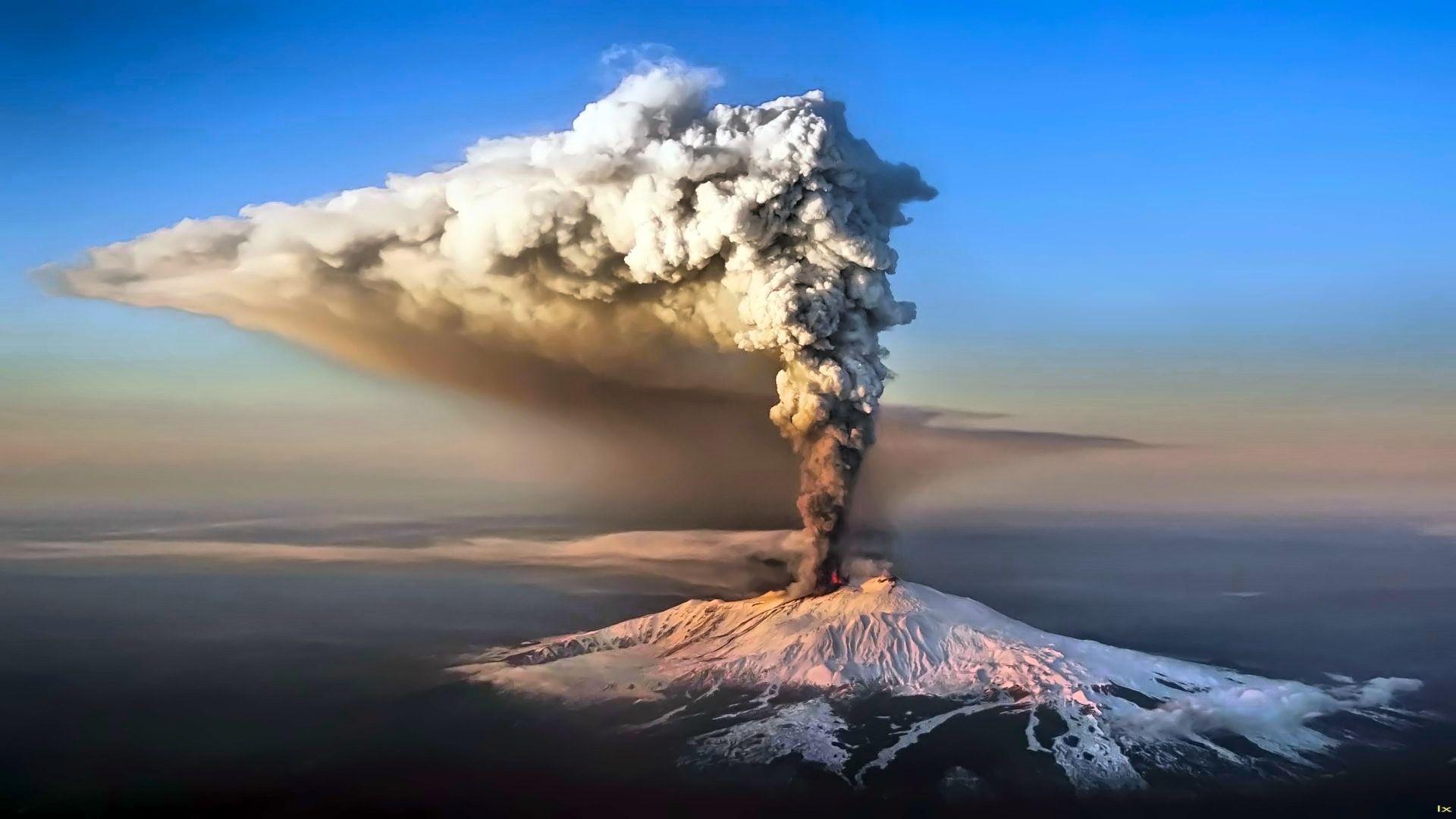 Volcano Eruption Wallpapers Wallpaper Cave