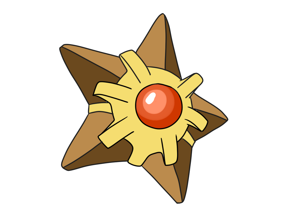 Washumow — Pokedex Challenge #120 Staryu