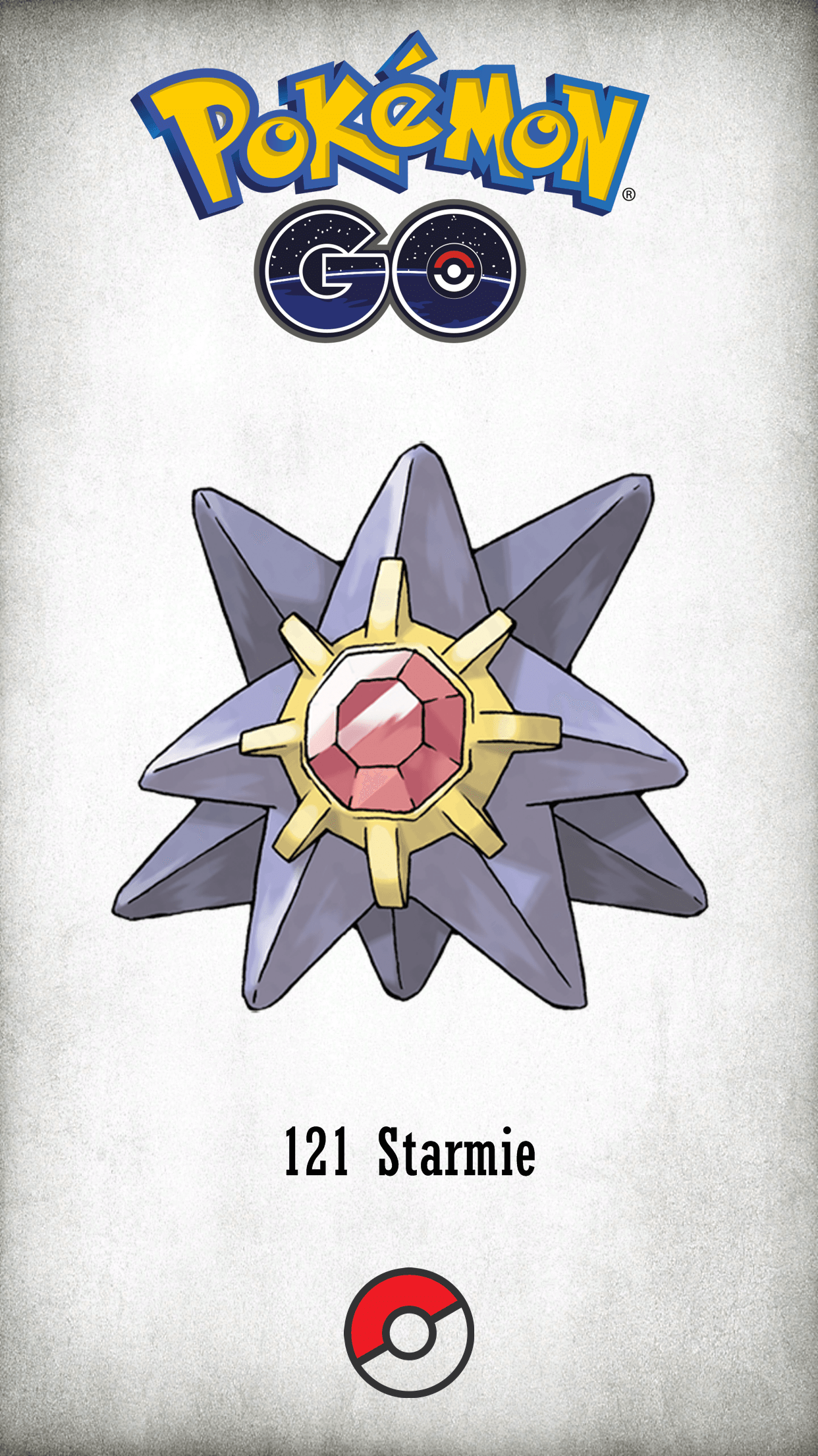 121 Character Starmie | Wallpaper