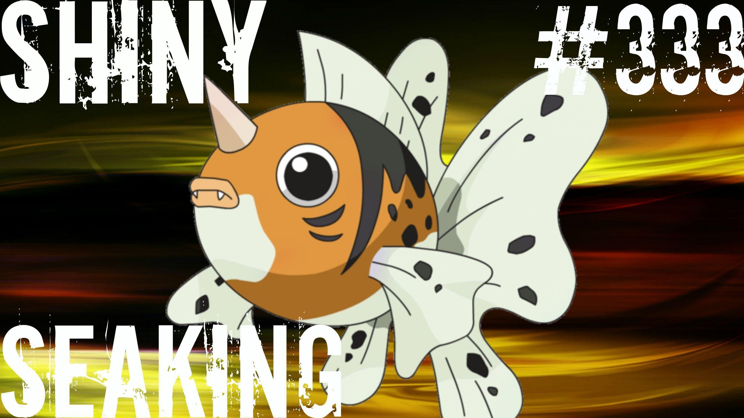 LIVE) Pokemon Omega Ruby/Alpha Sapphire ORAS - Shiny Seaking #333 ...