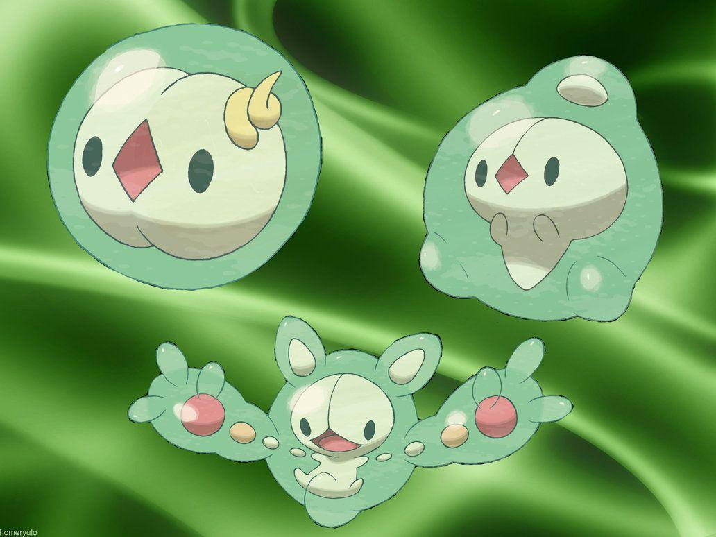 Solosis, Duosion, and Reuniclus image solosis's evolution HD