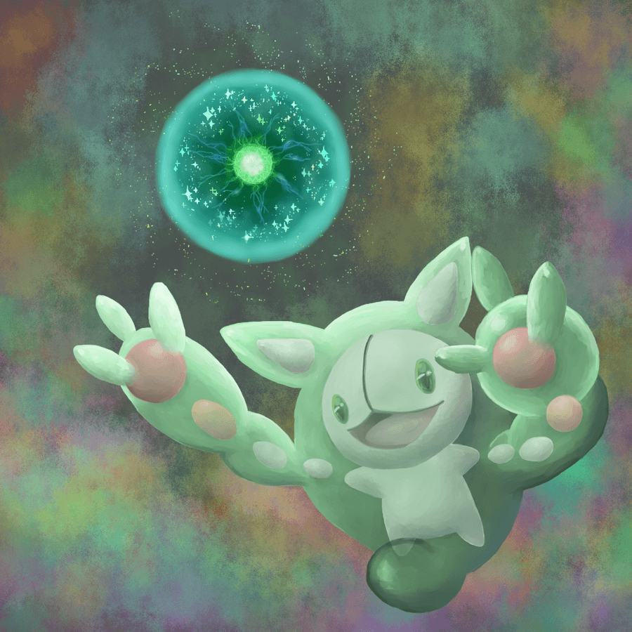 Reuniclus used Energy Ball by QUINCY