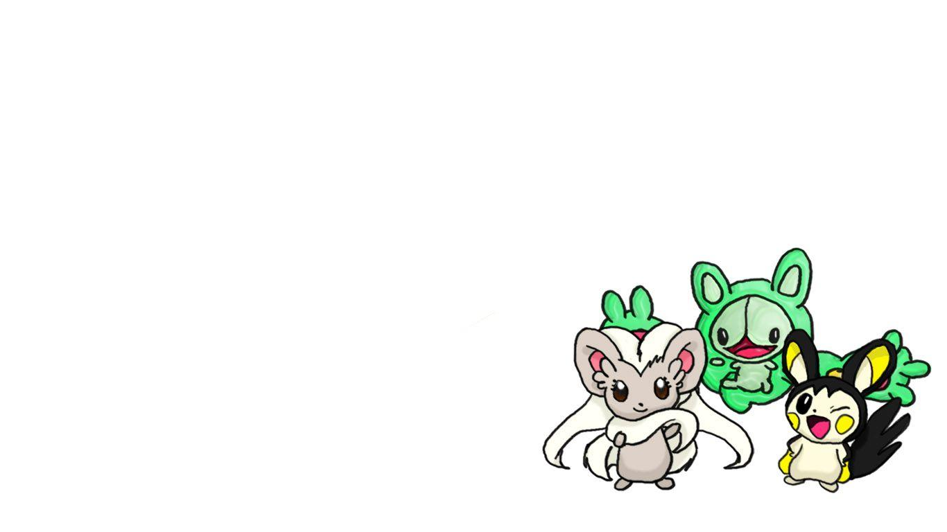 Cinccino, Reuniclus and Emolga by ProPlus on DeviantArt