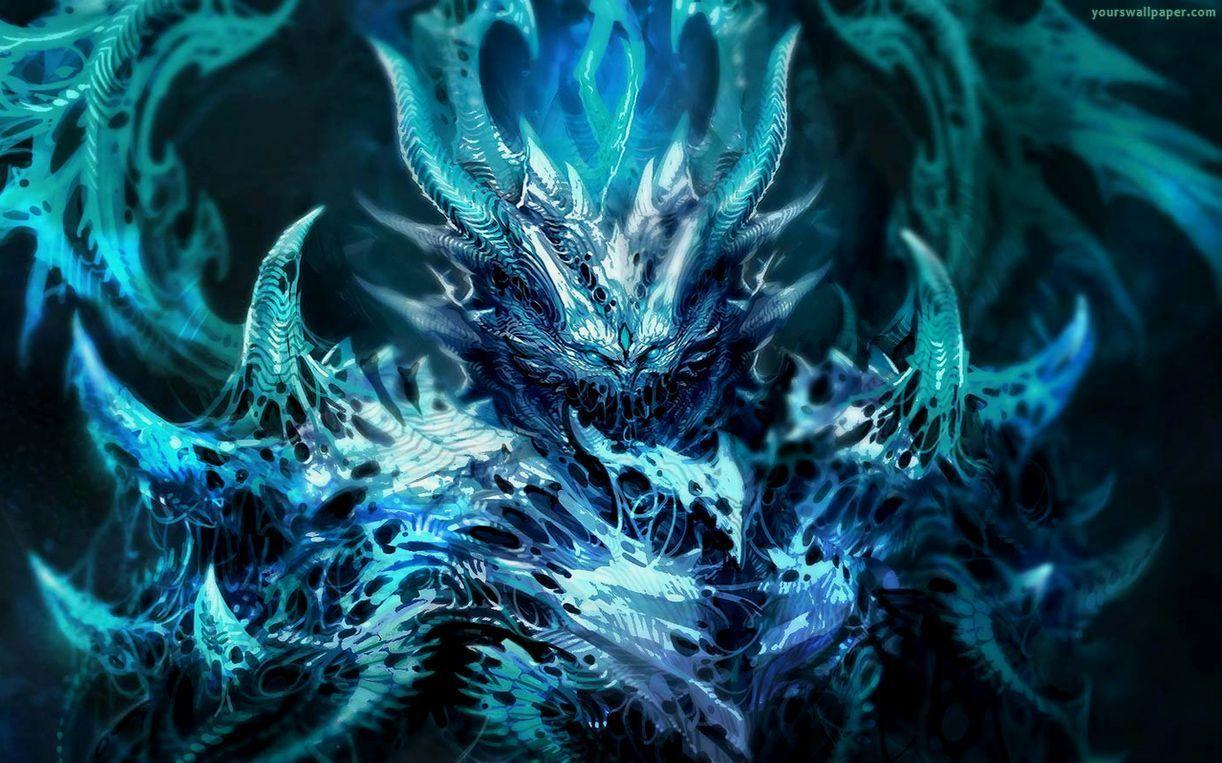 Black And Blue Dragon Wallpapers