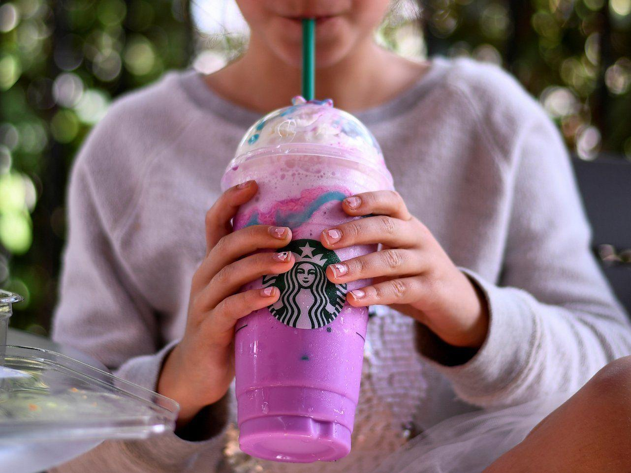 Crystal Ball Frappuccino is Starbucks' successor to the Unicorn
