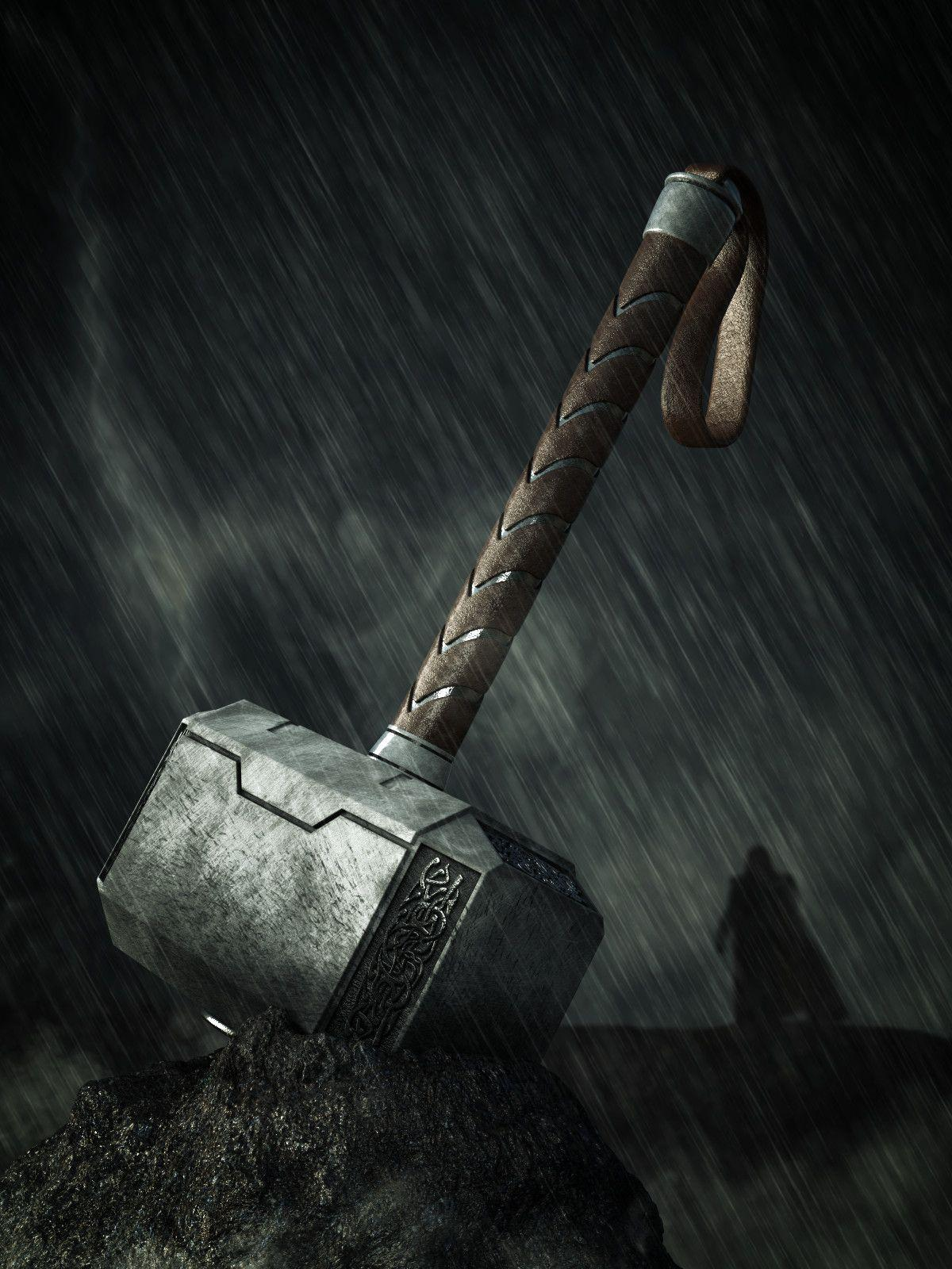 Thor Hammer Hd Wallpapers