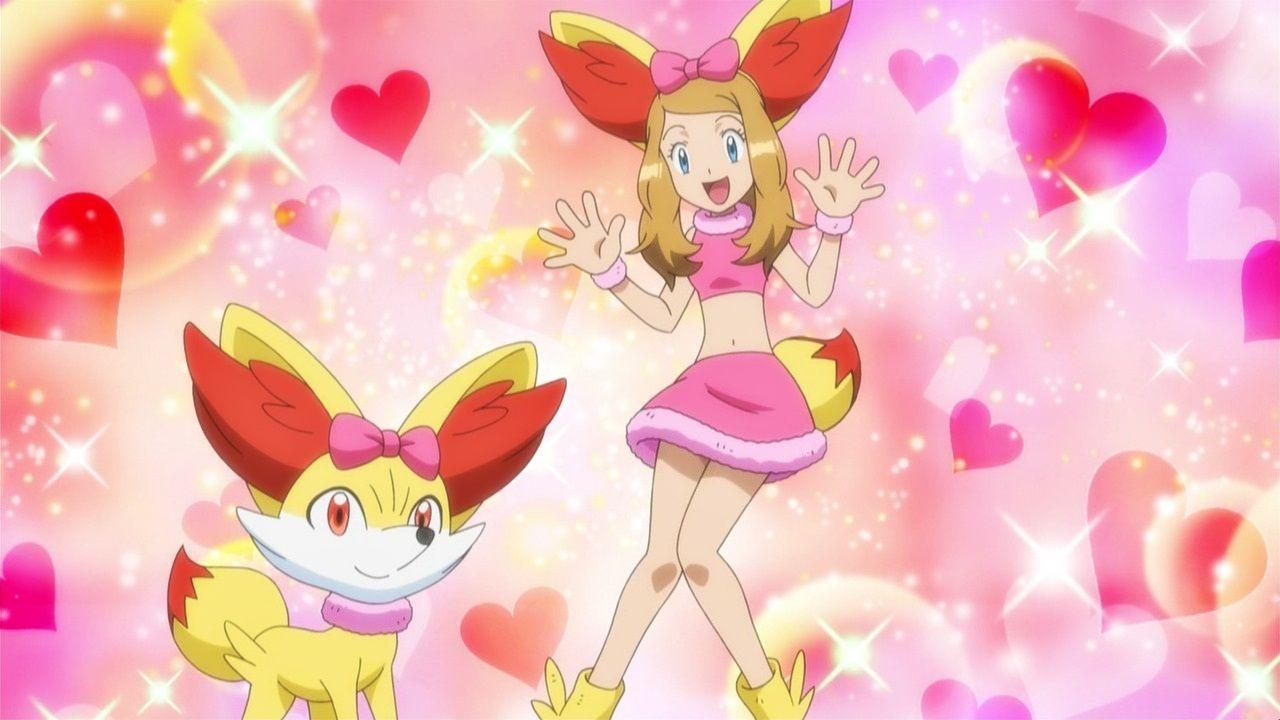 Serena (Pokemon XY) images Pokemon Serena and Fennekin HD wallpaper ...
