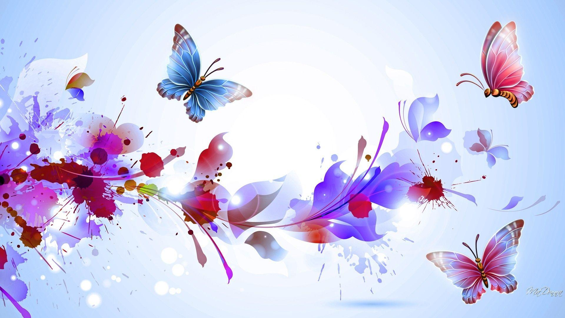 Abstract Flower Wallpapers - Wallpaper Cave