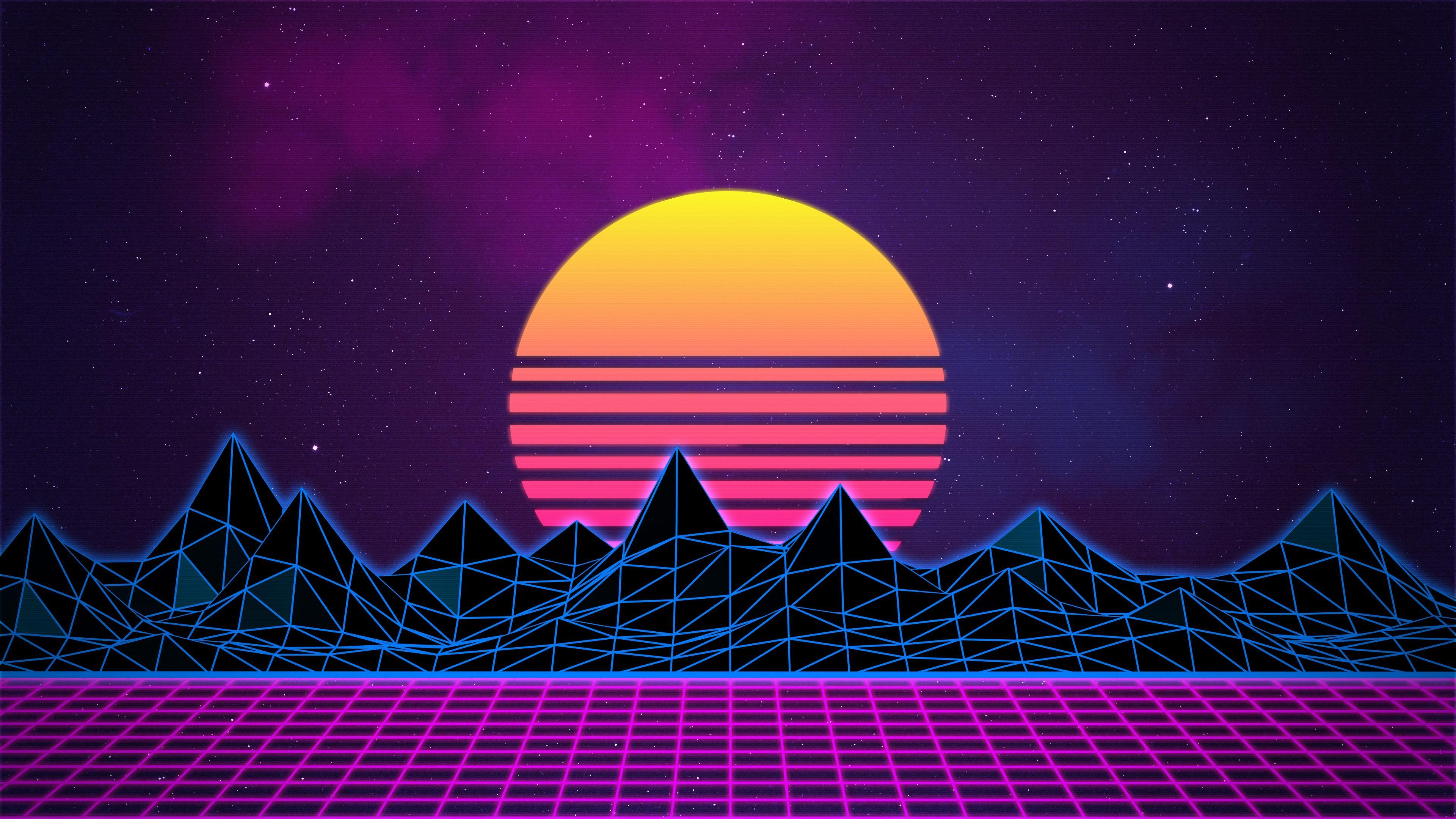 Retro Wave Wallpapers Wallpaper Cave