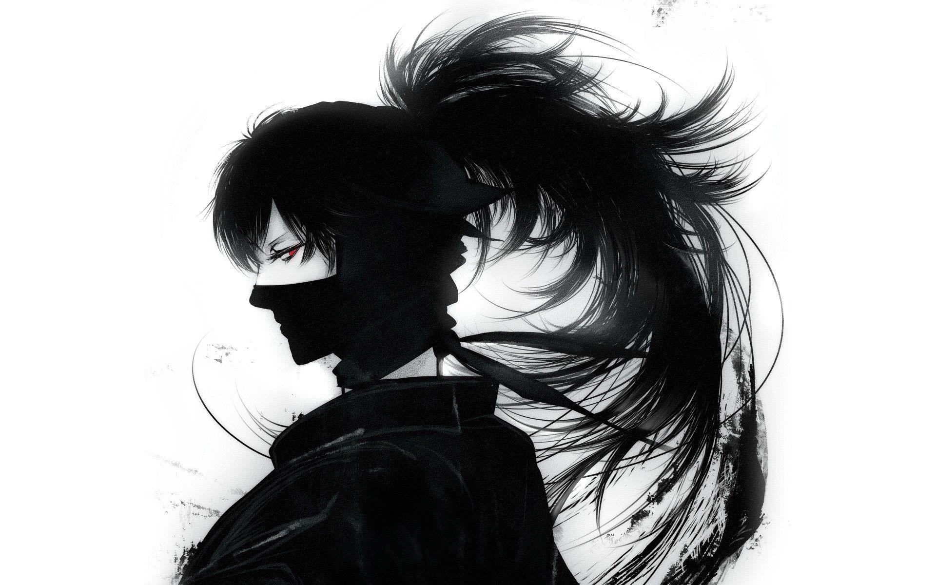 Anime ninja wallpapers wallpaper cave - Sketch anime wallpaper ...