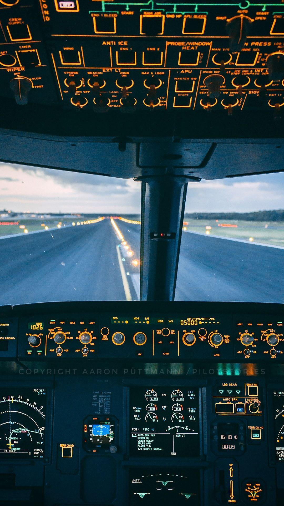 Airbus cockpit phone wallpapers wallpaper cave - Aeroplane hd wallpapers for mobile ...