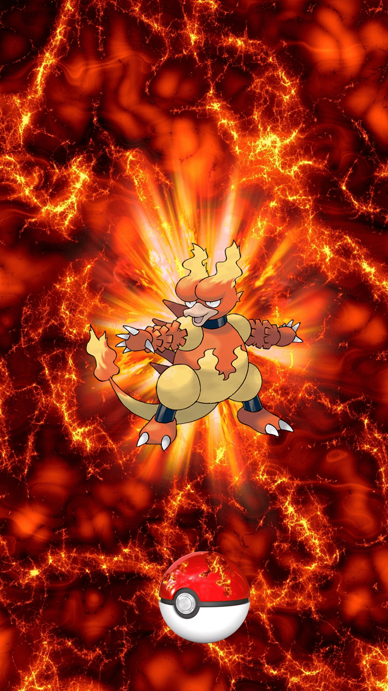 126 Fire Pokeball Magmar Boober Magby