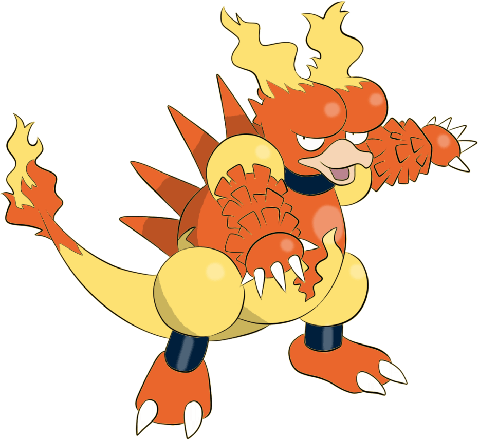 Magmar by BlackVictini