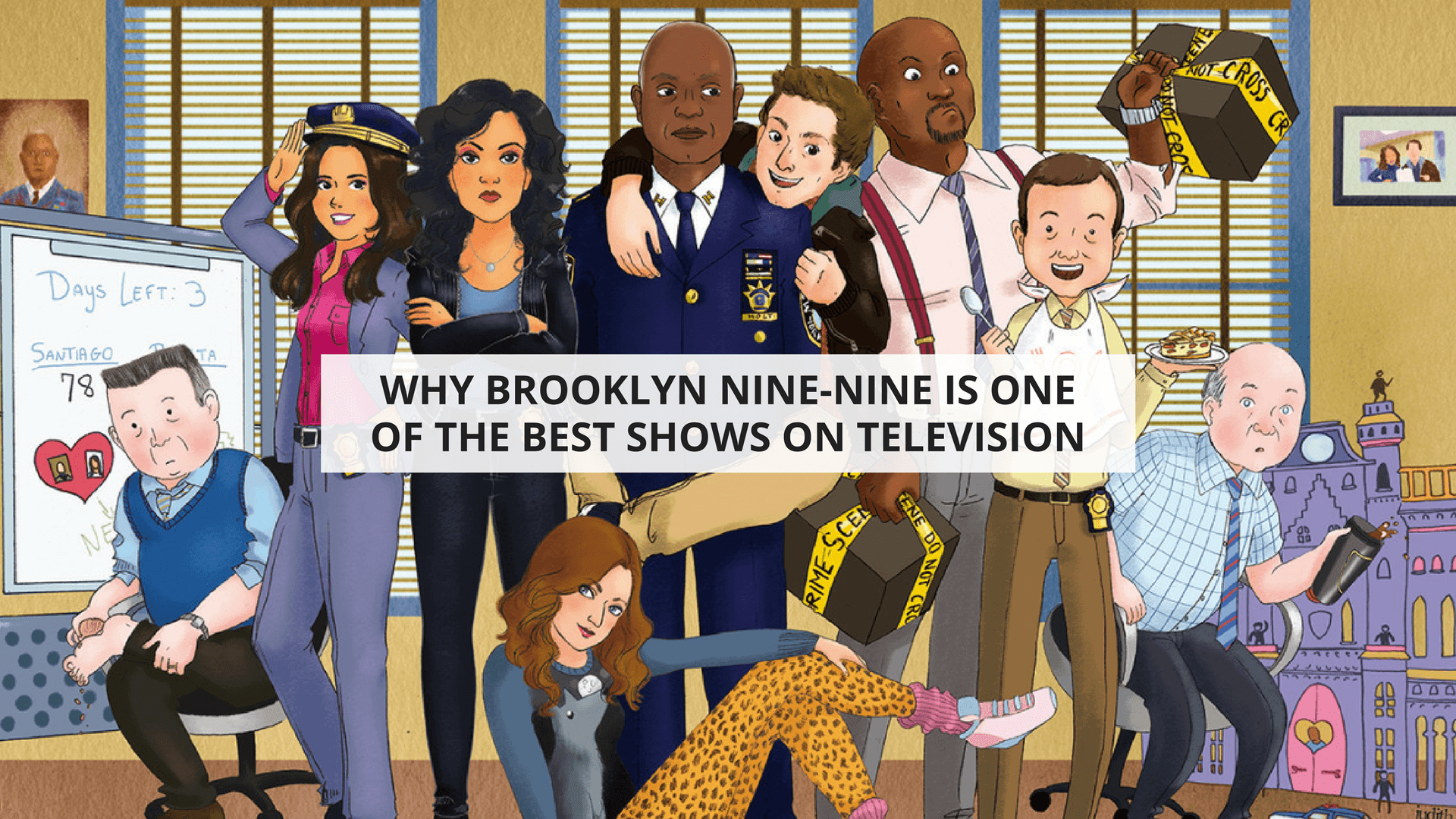 Why Brooklyn Nine-Nine is One of the Best Shows on Television ...