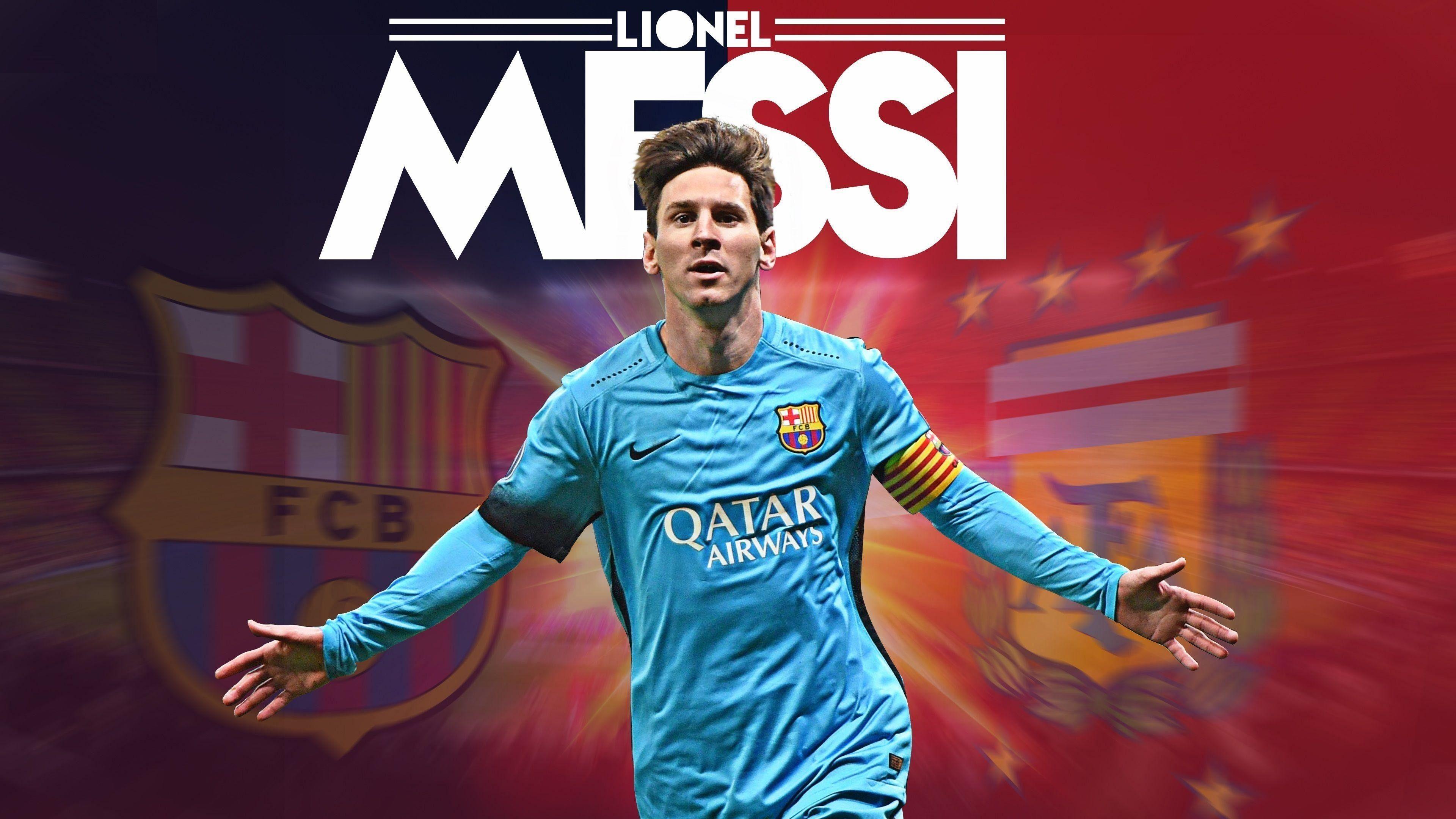 Lionel Messi FCB HD 4K Wallpapers
