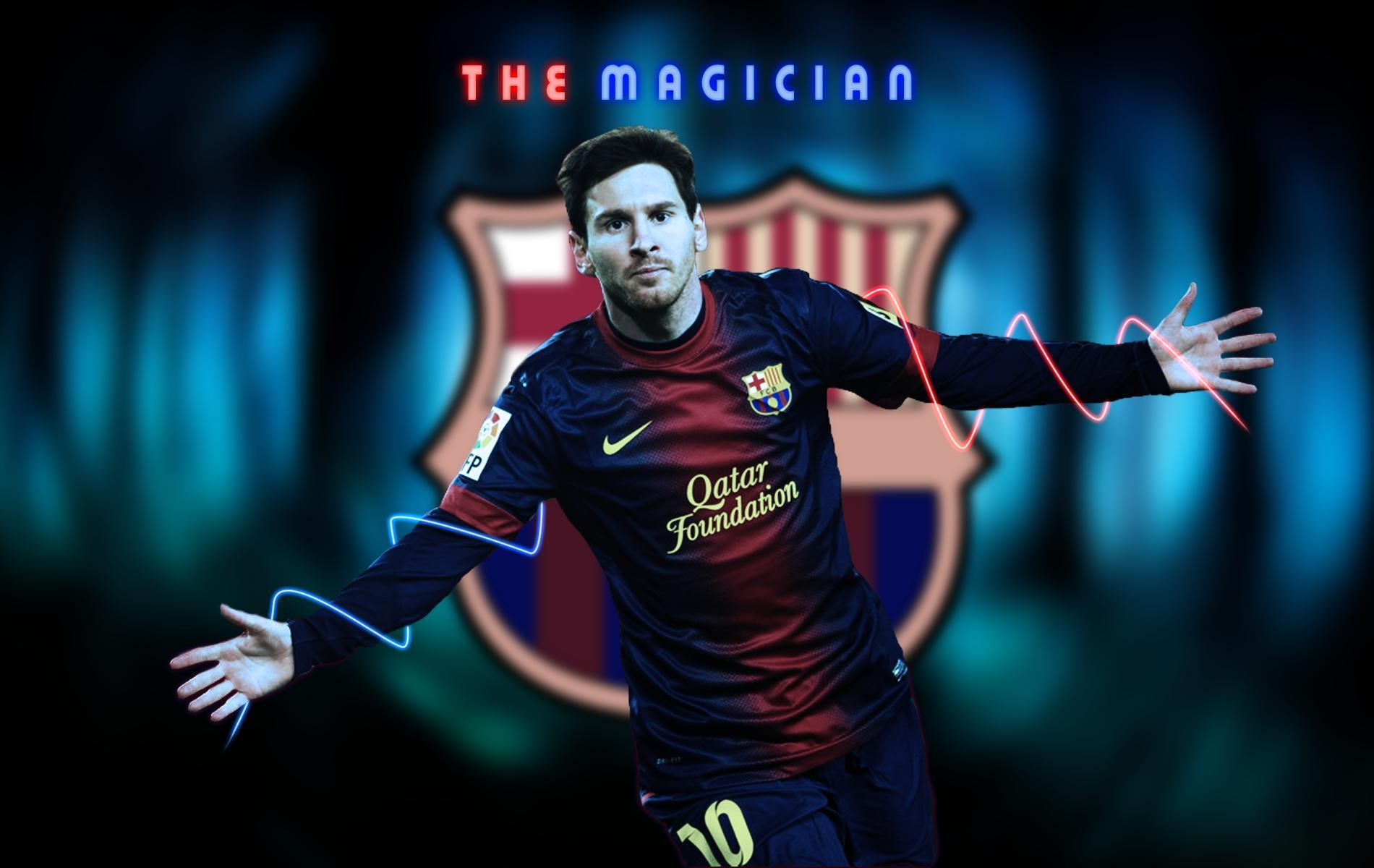 Lionel Messi Football Wallpaper
