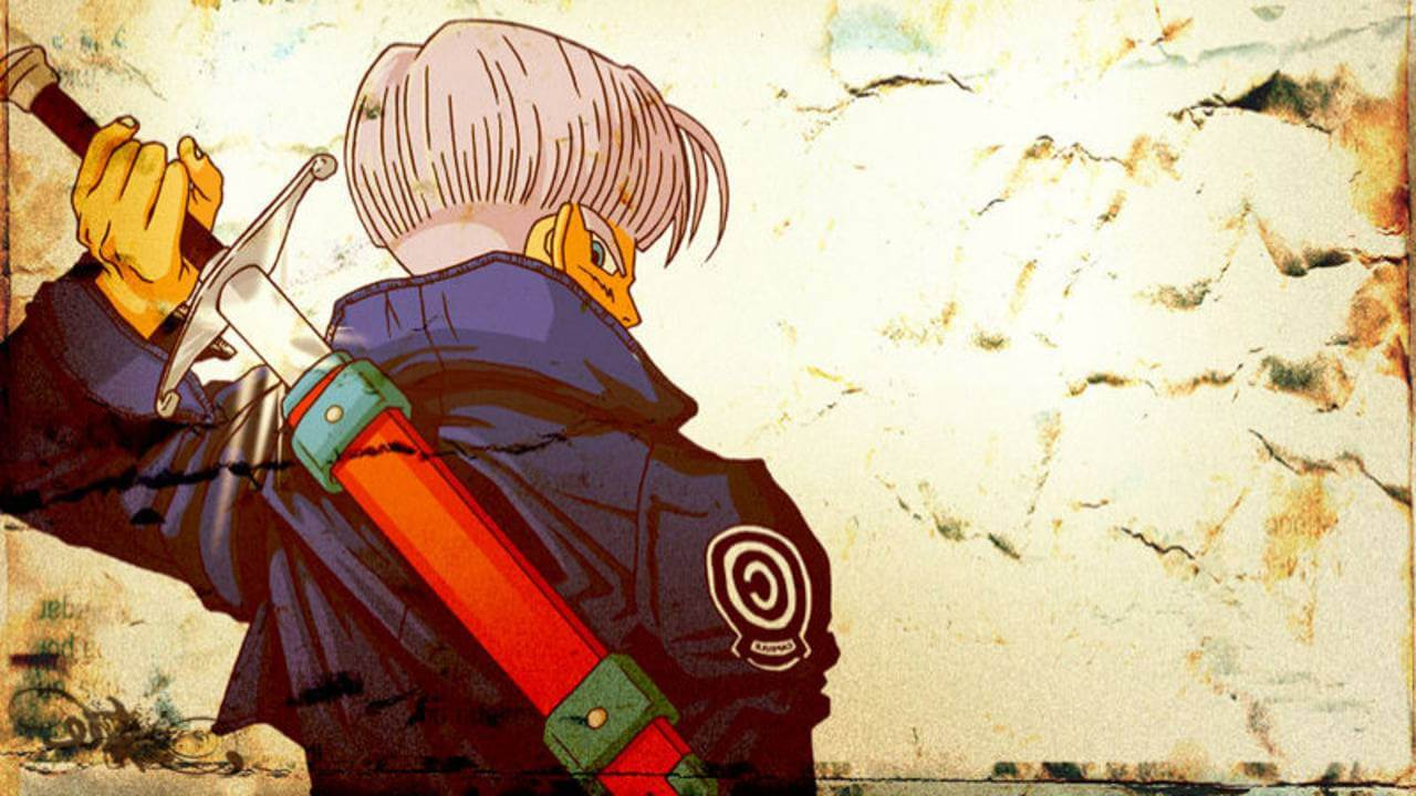Dragon Ball Z Trunks Wallpapers Wallpaper Cave