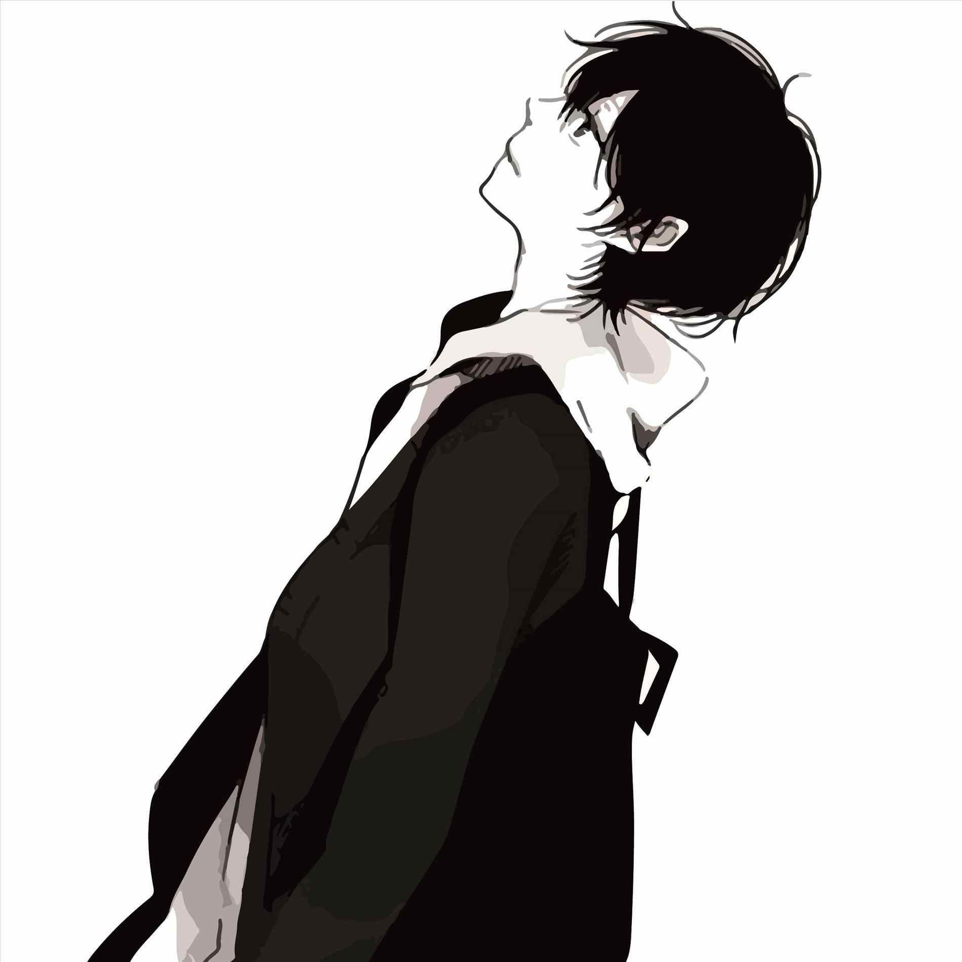 Boy anime cartoon sad face drawing images girl hd wallpaper girl
