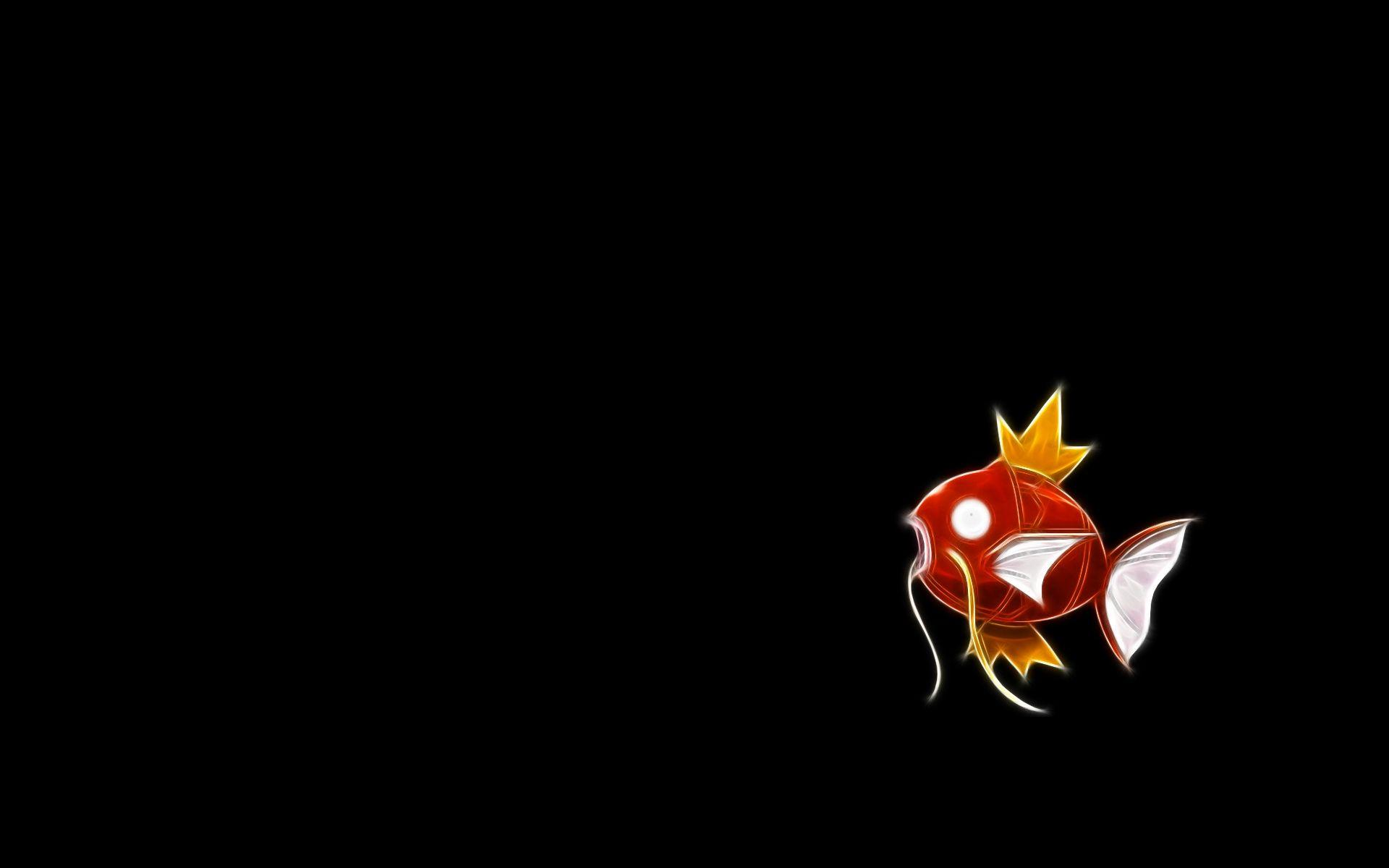 pokemon magikarp black backgrounds 1920x1200 wallpapers High Quality