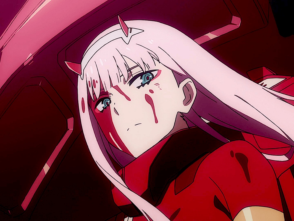 Desktop wallpapers angry, zero two, darling in the franxx, hd image