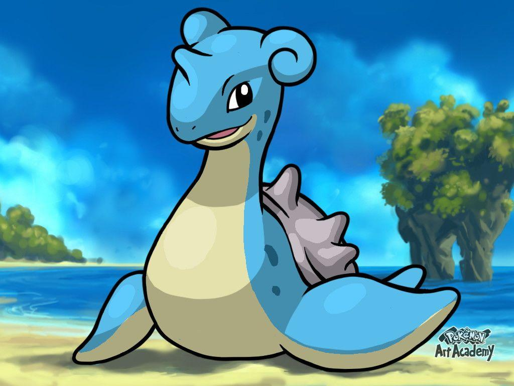 Pokemon Art Academy Graduate Course 2: Lapras by PkGam