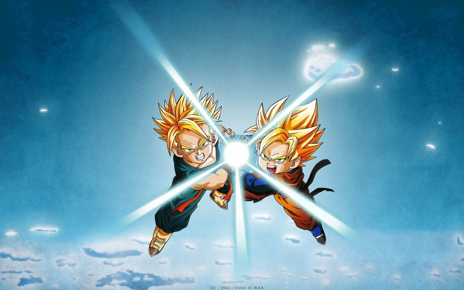 DRAGON BALL Z WALLPAPERS: Kid Trunks super saiyan 1