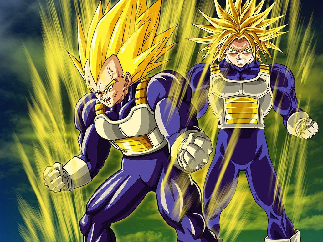Vegeta And Trunks Wallpapers Wallpaper Cave