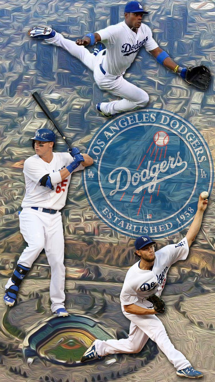 Los Angeles Dodgers Iphone Wallpapers Wallpaper Cave