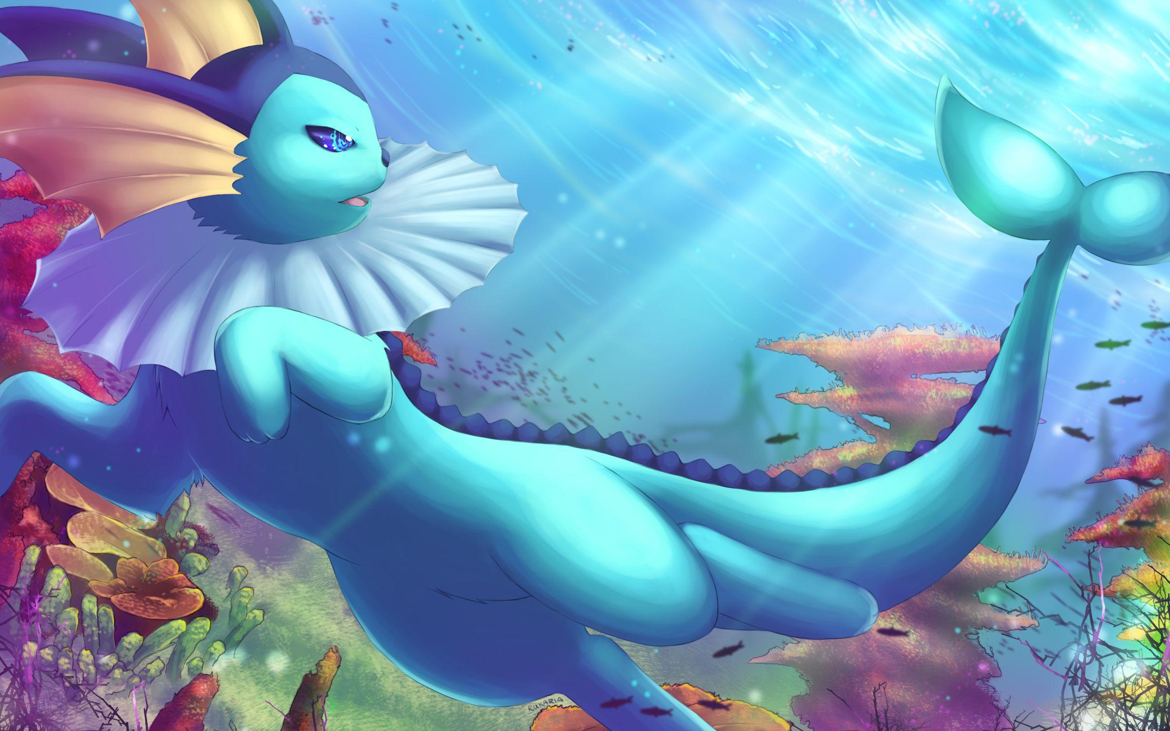 38 Vaporeon (Pokémon) HD Wallpapers | Background Images ...