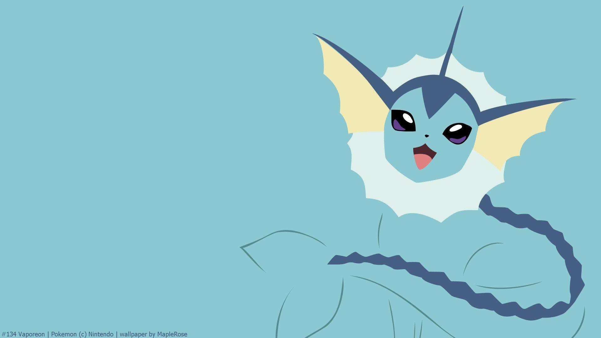 Vaporeon Full HD Wallpaper and Background Image | 1920x1080 | ID ...