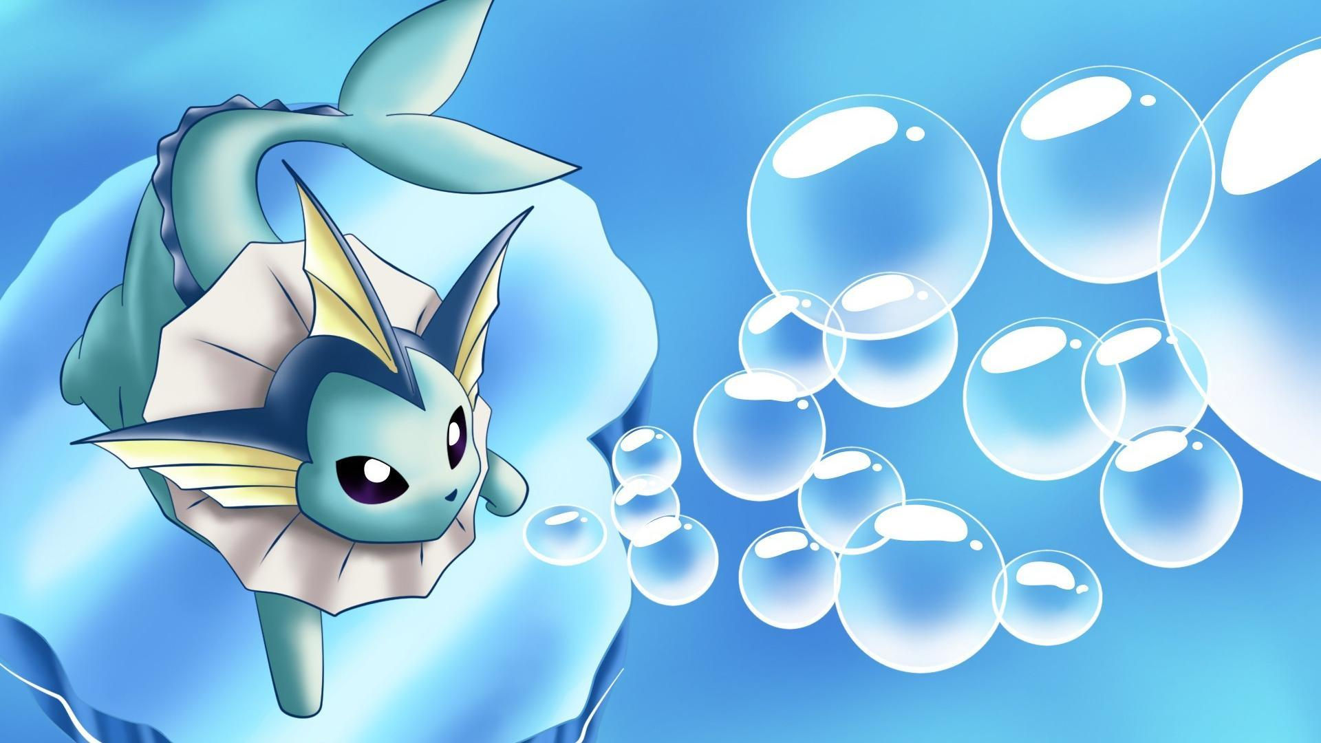 Nintendo water pokemon video games vaporeon serie wallpaper | (63555)