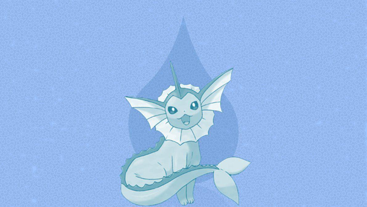 Vaporeon - Wallpaper by DaShyster on DeviantArt