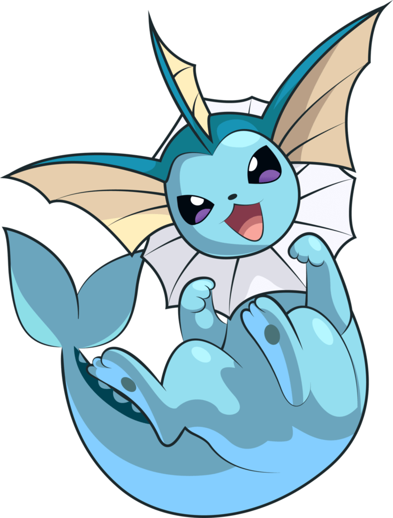 Pokemon Conquest - Vaporeon by Kalas17 on DeviantArt