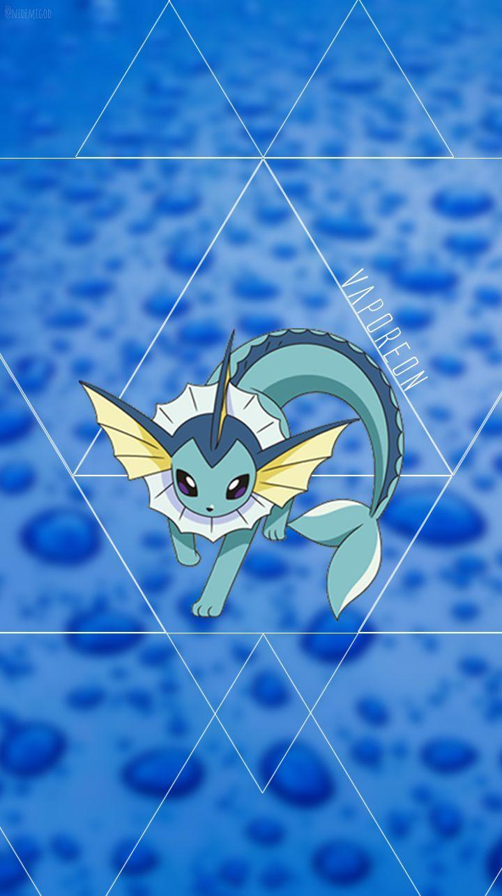 Wallpaper Vaporeon Water Kind Pokèmon. ❤ | HD Wallpapers - 10000+ ...