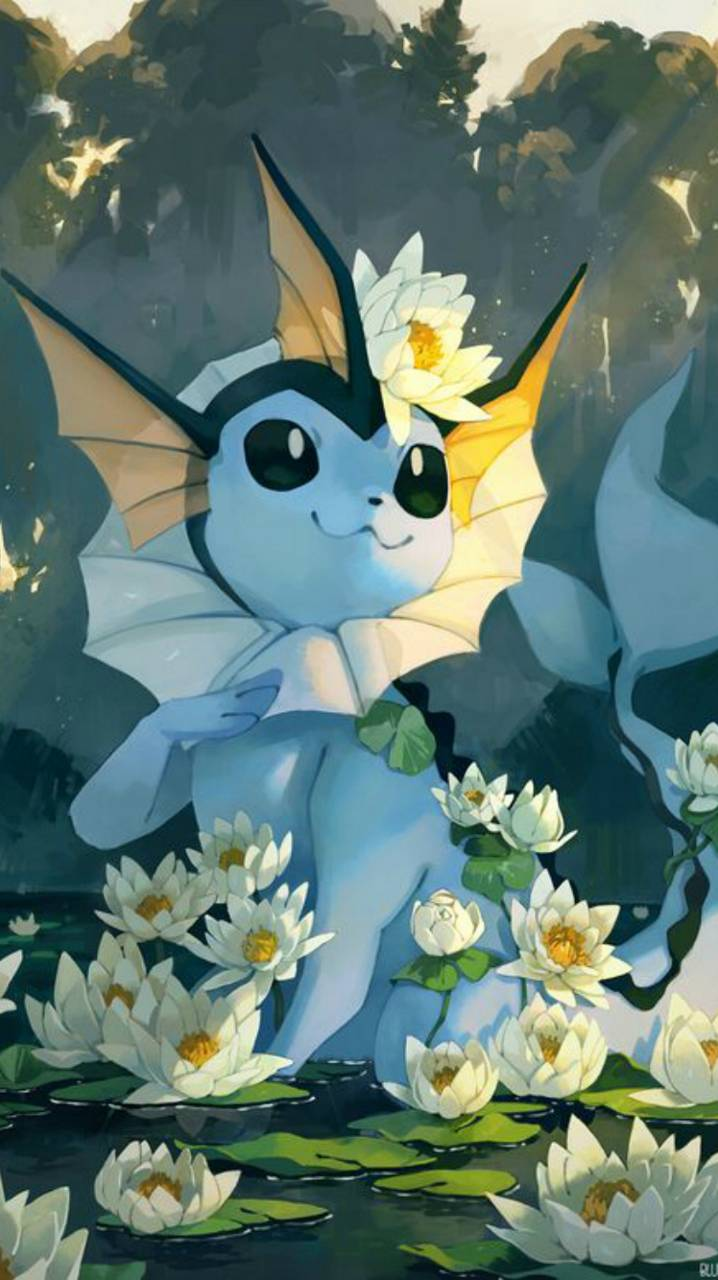 Vaporeon wallpaper by Agaaa_K - 2WGNTARAL44KQ