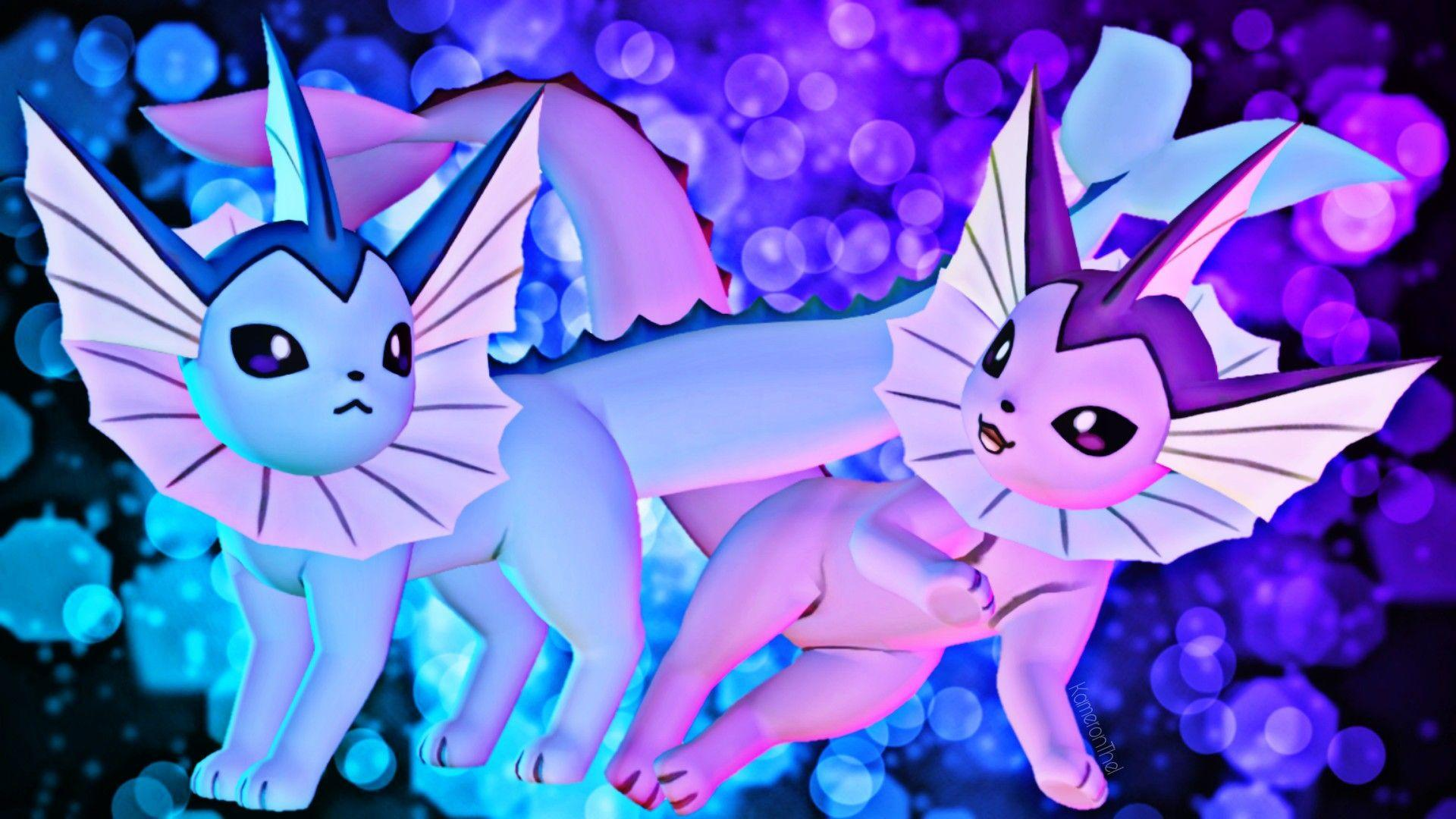 Pokemon\Sfm] Vaporeon by KameronThe1 on DeviantArt