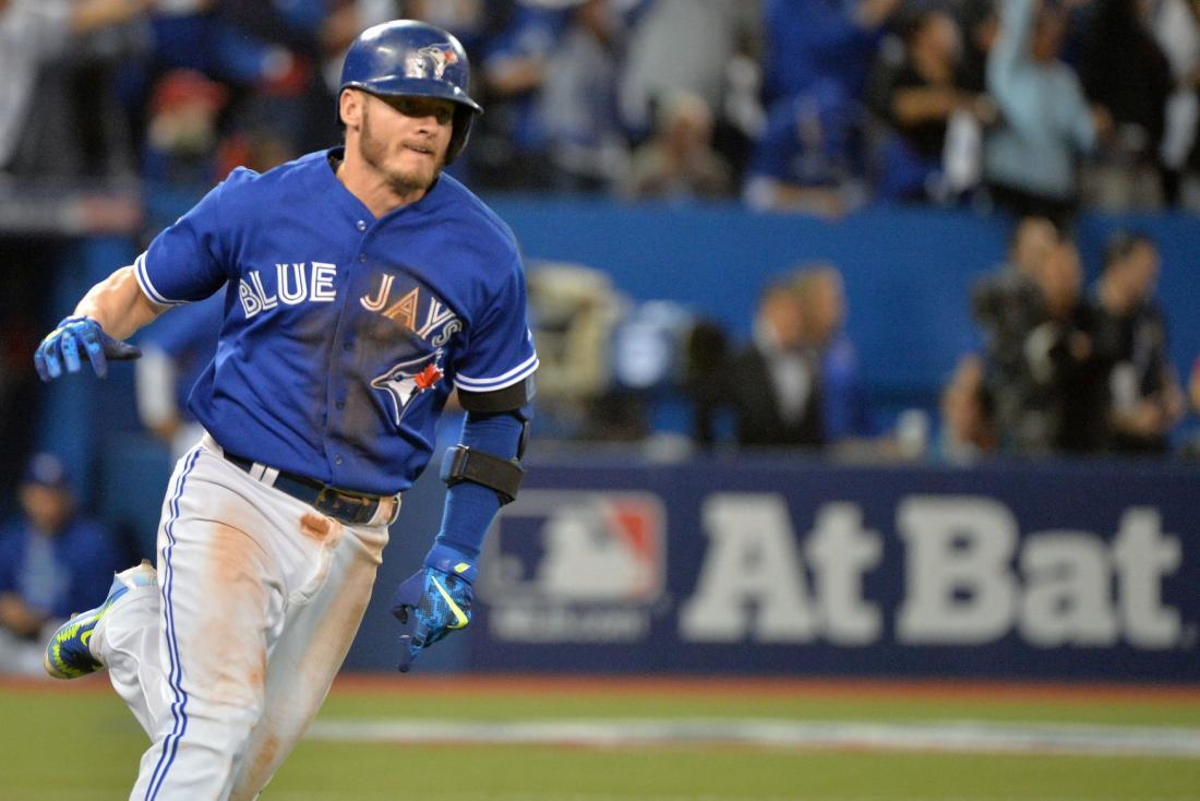 Josh Donaldson's homer in 10th helps Toronto Blue Jays beat
