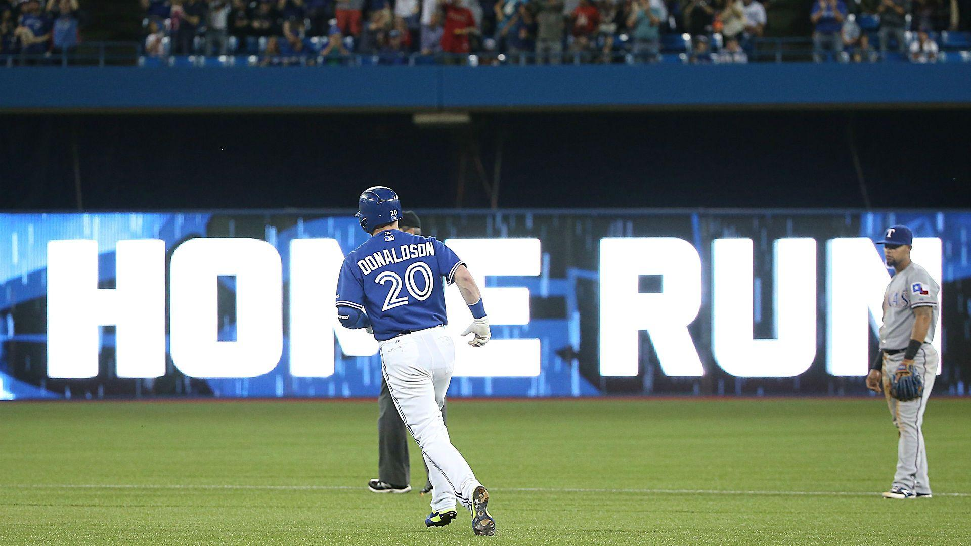 Take that, Pete Rose: Josh Donaldson homers in first at